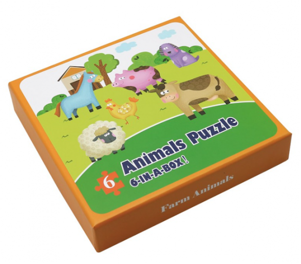 Puzzles de Animales de la Granja Juguetes Montessori