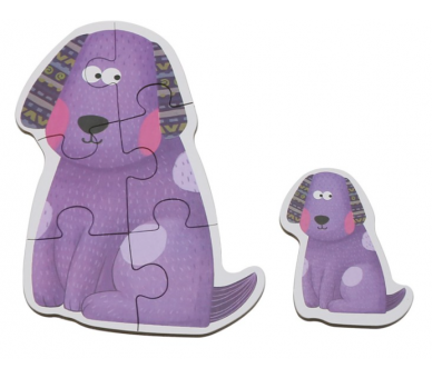 Puzzles de Animales de la Granja para llevar en la bolsita YupiBag
