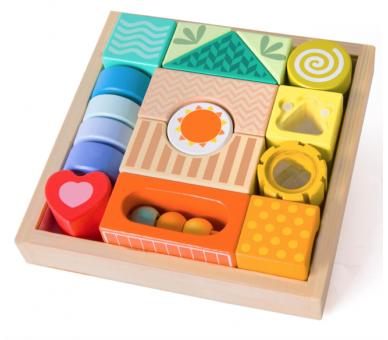 Bloques de Construcción Sensoriales Juguetes para bebés