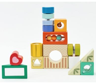 Bloques de Construcción Sensoriales Juguetes para la Creatividad
