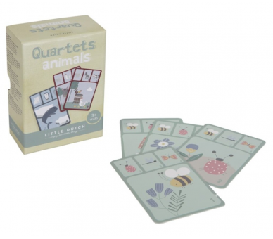 Quartet Juego de Cartas Little Dutch +3