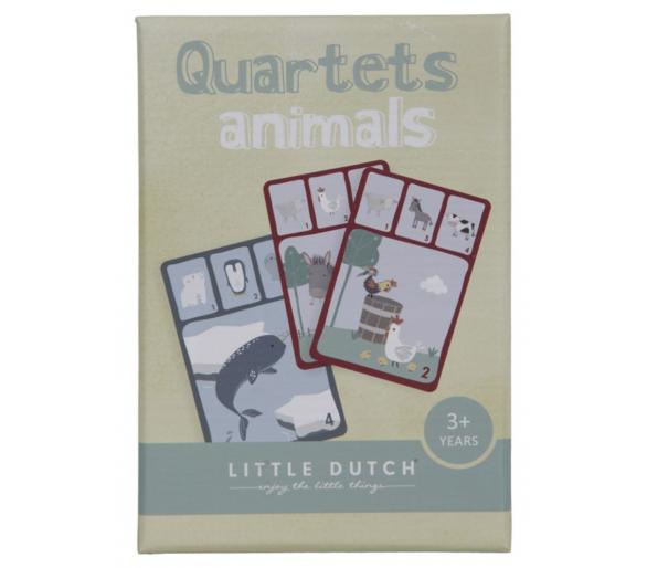 Juego Quartet de Cartas Little Dutch para jugar con la familia