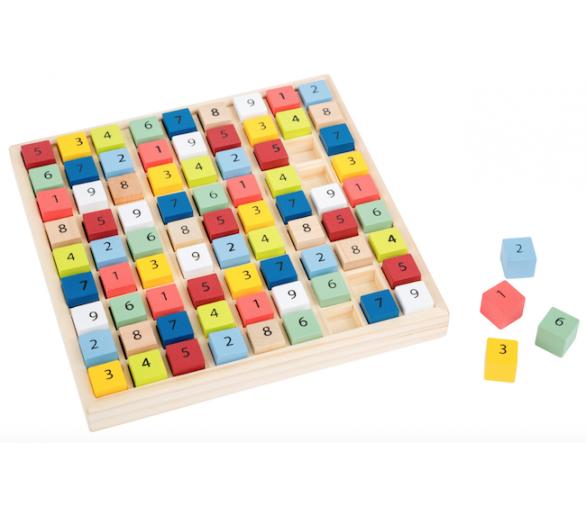 Puzle Educativo Sudoku de Madera +6