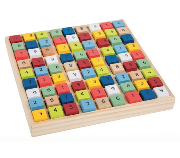 Puzzle Juguetes Educativos Sudoku de Madera