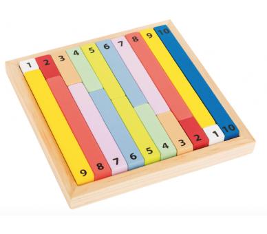 Barritas de Cálculo Matemáticas Juguetes de Madera