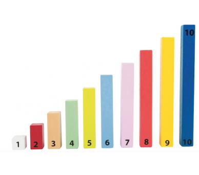 Barritas de Cálculo Matemáticas Juguetes Montessori