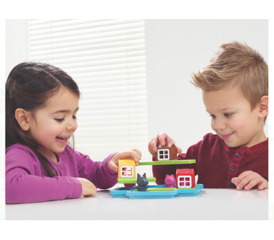 Los Tres Cerditos Juego de Lógica Juguetes Montessori