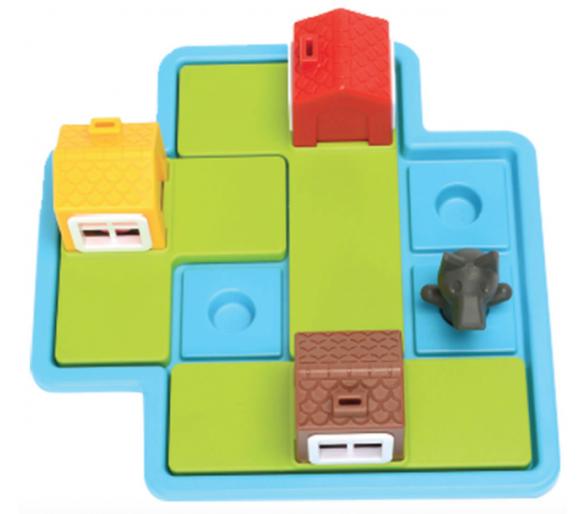 Los Tres Cerditos Juego de Lógica para jugar sin móviles