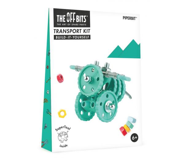 Kit de Construcción Moto The Offbits Juguetes Educativos