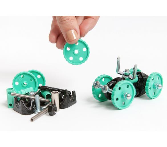 Kit de Construcción Vehículo (3 en 1) The Offbits Juguetes STEAM