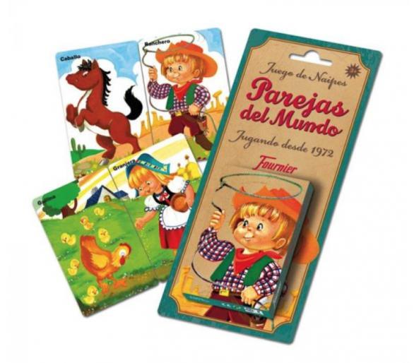 Baraja Cartas Parejas del Mundo Clásico +3