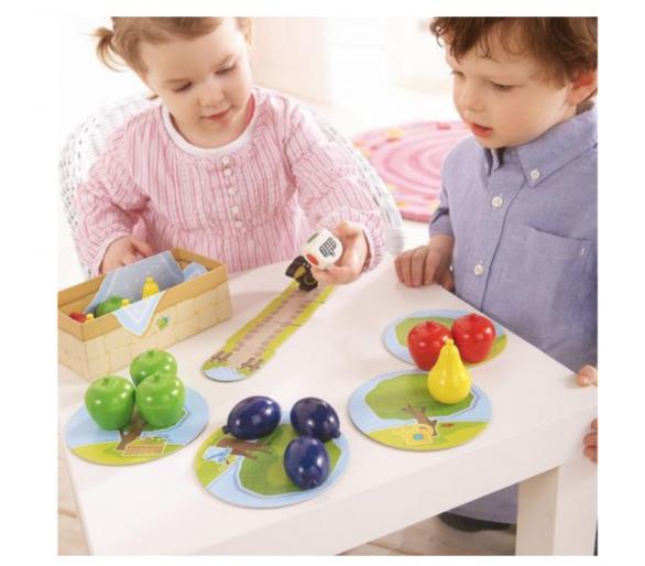 Juego de Cooperación Primer Frutal para aprender a jugar