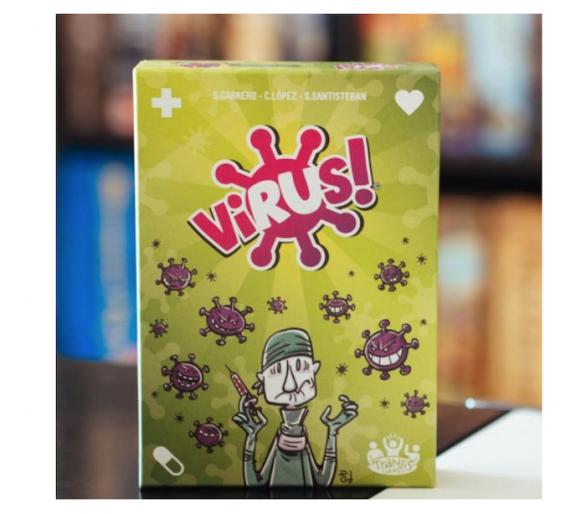 Virus Juego de Cartas ideal para jugar con amigos