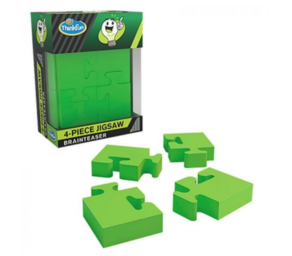 Rompecabezas Jigsaw 4 Piezas Braintreaser