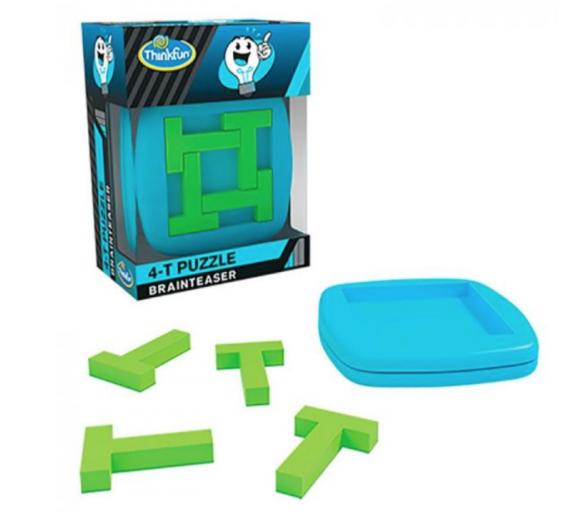 Rompecabezas T-puzzle Brainteaser +8