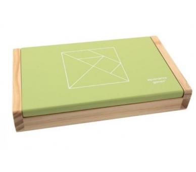 Juego Doble de Tangram Sostenible para jugar en cualquier sitio