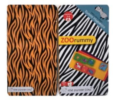 Juego Zoo Rummy Magnético para disfrutar de momentos inolvidables