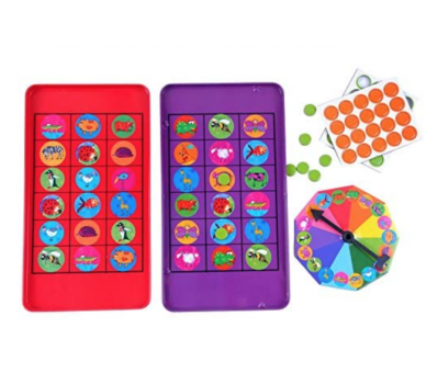 Juego Bingo Magnético ideal para jugar en cualquier sitio