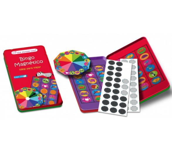 Juego Bingo Magnético Viaje +3
