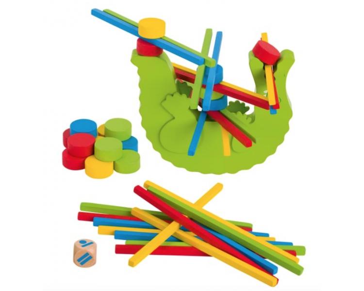 Cocodrilo de Equilibrio Habilidad Dado para jugar en familia