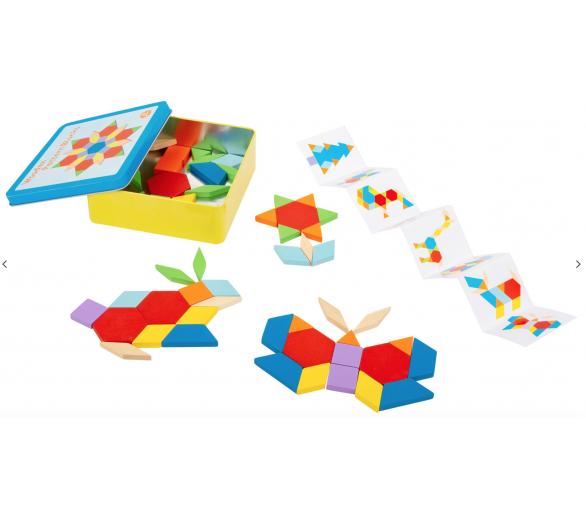 Juego de Construcciones Figuras +3