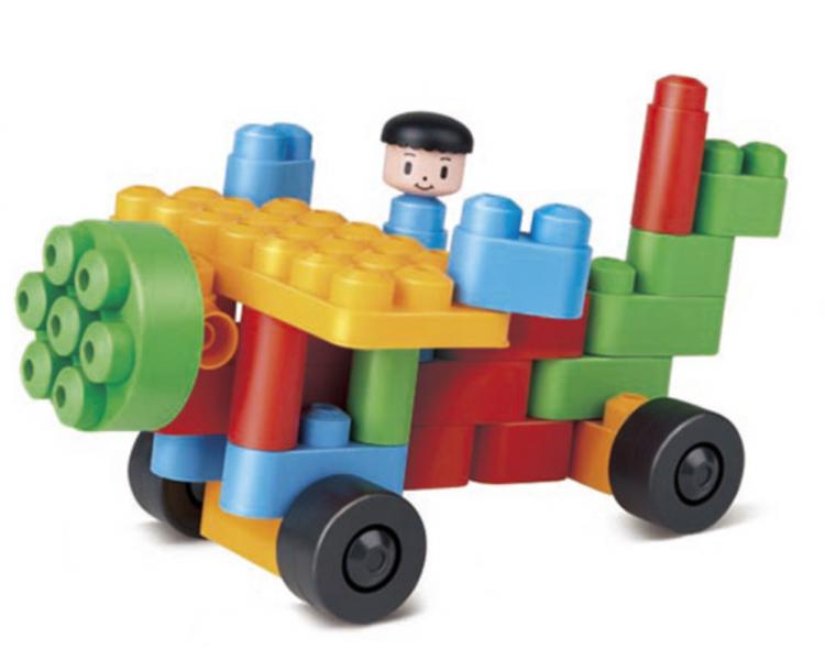 Juego Construcción Creativo Ruedas para jugar todos juntos en familia