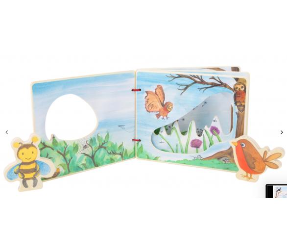 Libro Ilustrado Mundo en Madera para bebés ideal regalo