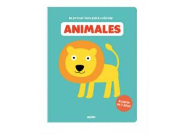 Primer Libro de Colorear Animales para ofrecer a cambio del móvil