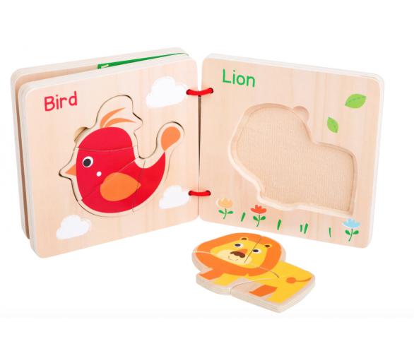 Libro Puzle de Animales para regalar a los bebés