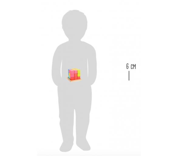 Puzle Cubo Tetris 3D Figuras para jugar con los amigos