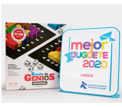 Batalla de Genios Juego de Mesa el mejor juguete educativo 2020
