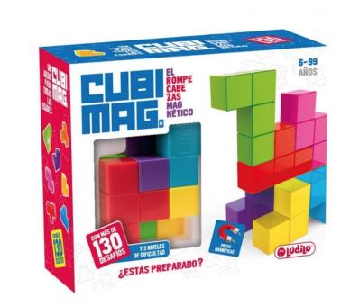 Cubimag Juego de Lógica Juguete Educativo