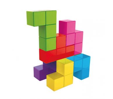 Cubimag Juego de Lógica Rompecabezas Magnético de Lúdilo