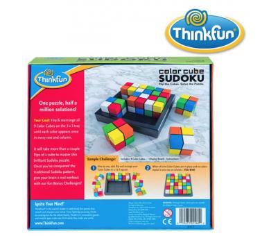 Color Cube Sudoku Juego de Lógica ideal para ofrecer a cambio de pantallas