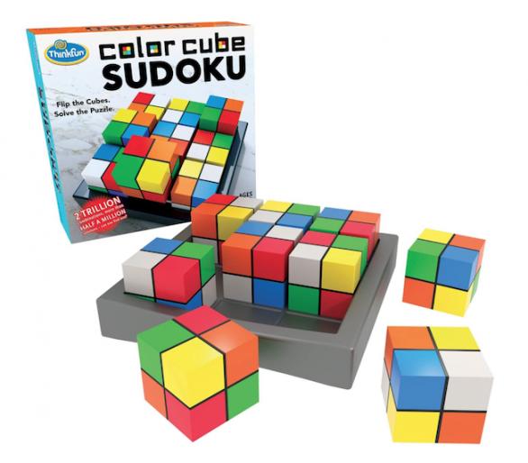 Color Cube Sudoku Juego de Lógica de ThinkFun