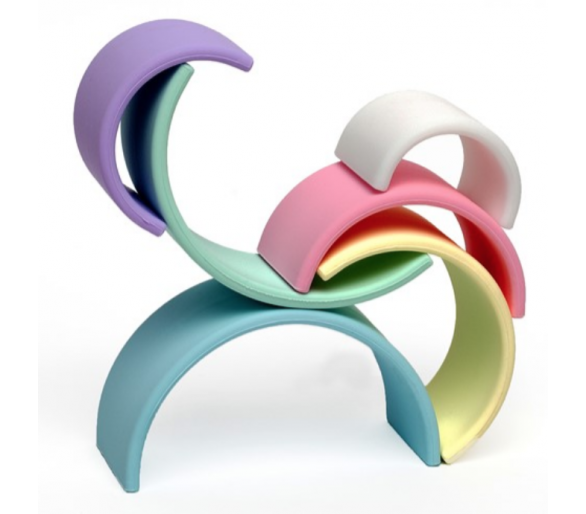 Figuras para hacer con Arco Iris Waldorf de Silicona Dëna
