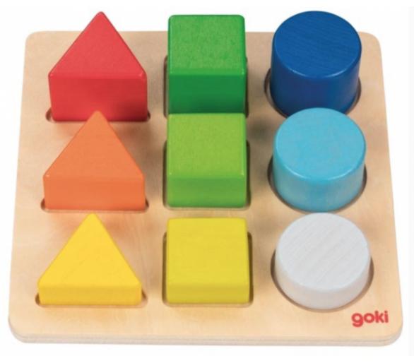 Encajable con formas y colores juguete educativo