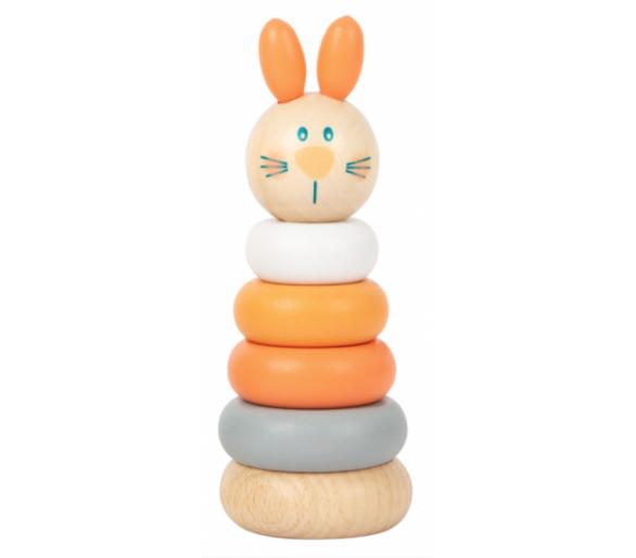 Torre Apilable Tonos Pastel Conejito para bebés Conejito