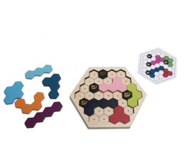 Puzzle Colmena Abejas Juego de Lógica a partir de 8 años
