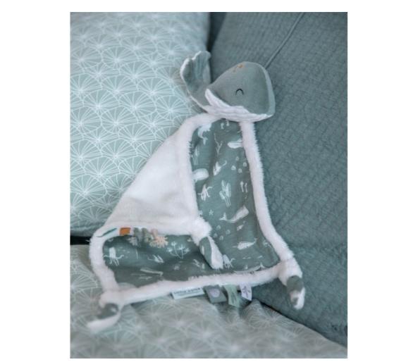 Doudou Ballena Ocean Mint Súper Suave ideal como primer regalo para bebés