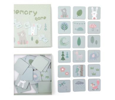 Juguete Educativo Memory en Tonos Pastel ideal para jugar dentro y fuera de casa