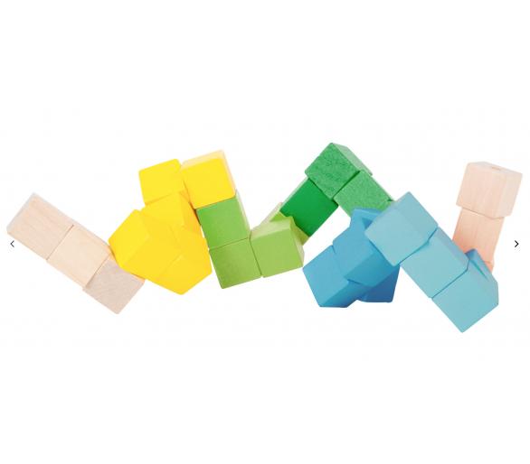 Cubo de Construcción Figuras para entretener a los peques sin pantallas