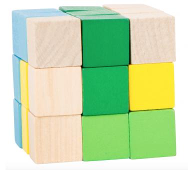 Cubo de Construcción Figuras +3