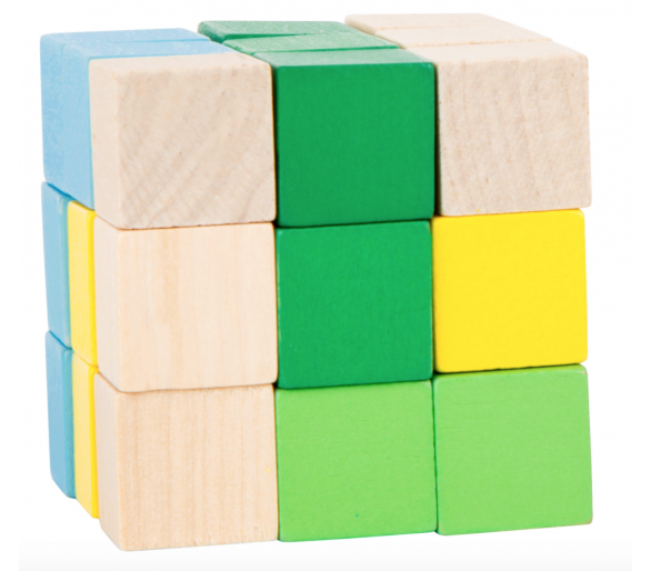 Cubo de Construcción Figuras para llevar en la bolsita YupiBag