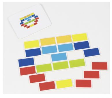 Juguete Educativo Puzzle Triángulo Segmentado para jugar sin pantallas