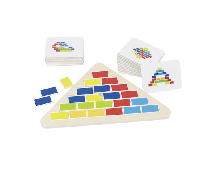 Puzzle Triángulo Segmentado Juguete Educativo