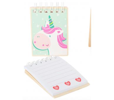 Libreta de Unicornio Manualidades para llevar a cualquier sitio