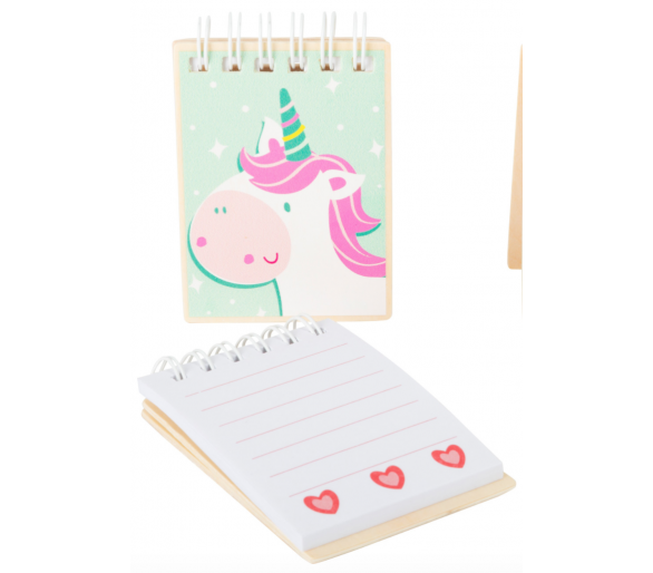 Libreta de Unicornio Manualidades +3