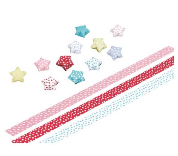 Set de manualidades origami hacer estrellas