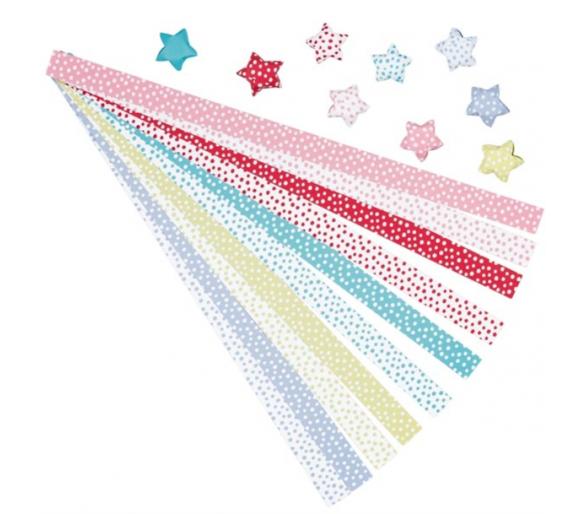 Set Origami Manualidades Estrellas